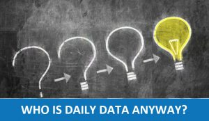 What is daily data